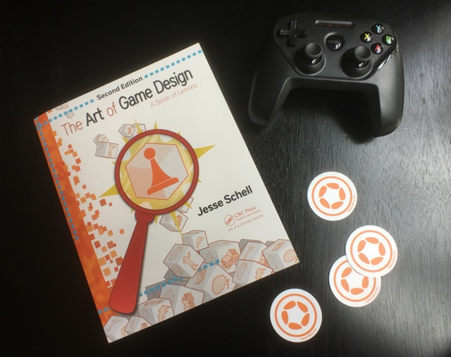 The Art of Game Design book